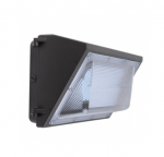 60W Semi Cut Wall Pack w/Photo Cell Sensor, 7200 Lumens, 5000K