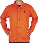 30'' 9 OZ Orange Flame-Retardant Jacket, Size XX-Large