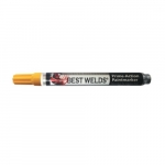 Prime-Action Chisel/Bullet Tip Paint Marker, Yellow