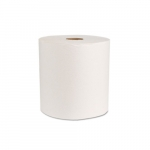 Green Seal Certified White Towel Roll, 800-ft.