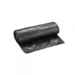 Black Linear Low-Density Can Liners w/ 12 to 16 Gal Capacity