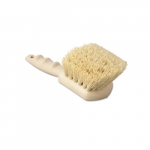 "Tampico Bristle Utility Brush, Plastic, 8.5"" Tan Handle"