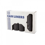 Gray Linear Low-Density 1.1 milCan Liners w/ 56 Gal Capacity