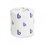 Two-Ply White Toilet Tissue