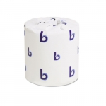 Individually Wrapped Toilet Tissue Paper, 4X3, 500 Sheets per Roll