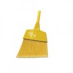 Gray/Natural, Corn/Fiber Angled-Head Lobby Brooms- 42-in