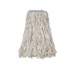 White, 4-ply Cut-End Cotton Mop Head- #32 Band