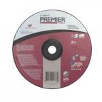 4.5-in Depressed Center Grinding Wheel, 24 Grit, Zirconia Alumina