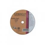 4-in A60 Gold Cutting Wheel, 60 Grit, Aluminum Oxide