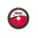 4-in Premier Snagging Cup Wheel, 16 Grit, Zirconia Alumina