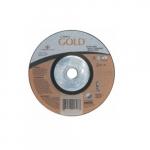 4.5-in Carbo GoldCut Depressed Center Cutting Wheel, 30 Grit, Aluminum Oxide, Resin Bond