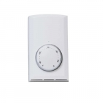 Double Pole Wall Mount Thermostat, Non-Programmable, 22 Amp, Almond