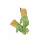Large Welding Gloves, Green/Gold