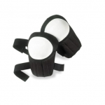 Swivel Knee Pads w/ Plastic Cap, Black