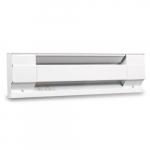 1000W Electric Baseboard Heater, 4-Feet, 208V/240V, White