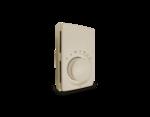Single Pole Anticipated Heat Thermostat, Almond, 22A
