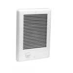 Com-Pak Wall Heater, Grill Only, White