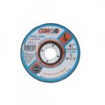 4.5-in Depressed Center Cutting Wheel, 24 Grit, Aluminum Oxide