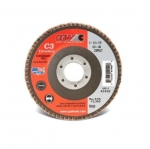 4.5-in Compact Flap Disc, 36 Grit, Ceramic