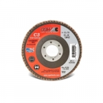 4.5-in Compact Flap Disc, 60 Grit, Ceramic