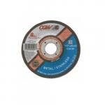 5-in Quickie Cut Depressed Center Cutting Wheel, 60 Grit, Zirconia and Aluminum Oxide
