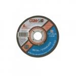 7-in Quickie Cut Depressed Center Cutting Wheel, 60 Grit, Zirconia and Aluminum Oxide
