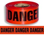 3 Inch Wide 1000 Foot Red Barricade Caution Tape