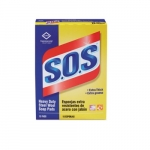 S.O.S. Steel Wool Soap Pad, 15 Count