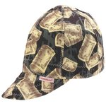 Size 8 Assorted Print Deep Round Crown Cap