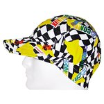 One Size Fits All Assorted Print Deep Round Crown Cap