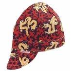 Size 7.5 Assorted Print Deep Round Crown Cap
