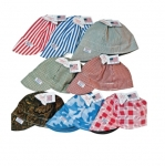 Reversible Welding Cap, Size 7-3/8, Assorted Print