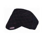 Quilted Welding Cap, Size 6-7/8, Black