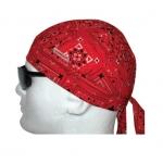 Welding Do-Rag, One Size, Red Bandana