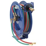 1/4 in 50.0 ft Spring Driven Welding Hose Reel