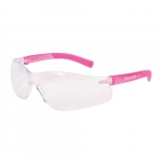 BearKat Hard Coat Safety Glasses, Polycarbonate, Clear Lens, Pink
