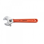 12-in Adjustable Wrench w/ Cushion Grip, Chrome