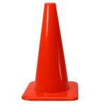 28'' Hi-Visibility Orange Vinyl Cone