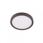 "8"" 14W LED Round Ceiling Light, Dimmable, 720 lm, 3000K, Bronze"