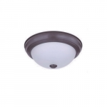 "11"" 15W LED Ceiling Light, Dimmable, 850 lm, 3000K, Bronze"