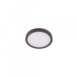 "12"" 22W LED Round Ceiling Light, Dimmable, 1320 lm, 3000K, Bronze"