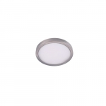 "12"" 22W LED Round Ceiling Light, Dimmable, 1320 lm, 3000K, Nickel Satin"