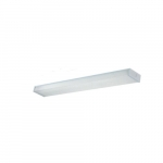 4-ft 36W LED Wrap Light, 3100 lm, 4000K