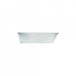 50W 2x4 LED Flat Panel Dimmable, 5500 lm, 5000K