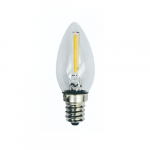 1W LED Filament Bulb, 10W Inc. Retrofit, 60 lm, 2700K