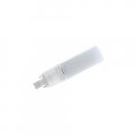 7W LED Bi-Pin Bulb, Direct Wire, 18W CFL Retrofit, 700 lm, 4000K