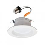 "4"" 10W LED Recessed Can Retrofit Kit, 60W Inc Retrofit, Dimmable, 700 lm, 5000K"