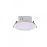 "4"" 10W LED Recessed J-Box Downlight, 60W Inc. Retrofit, Dimmable, 700 lm, 5000K"