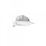 "4"" 10W LED Recessed J-Box Downlight, 60W Inc. Retrofit, Dimmable, 700 lm, 3000K"