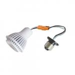 """7W LED PAR16 Bulb for 3 & 4"""" Recessed Can Kit, 50W Hal. Retrofit, Dim, 450 lm, 5000K"""